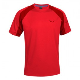 Salewa T-Shirt Puez Sporty Bergrot