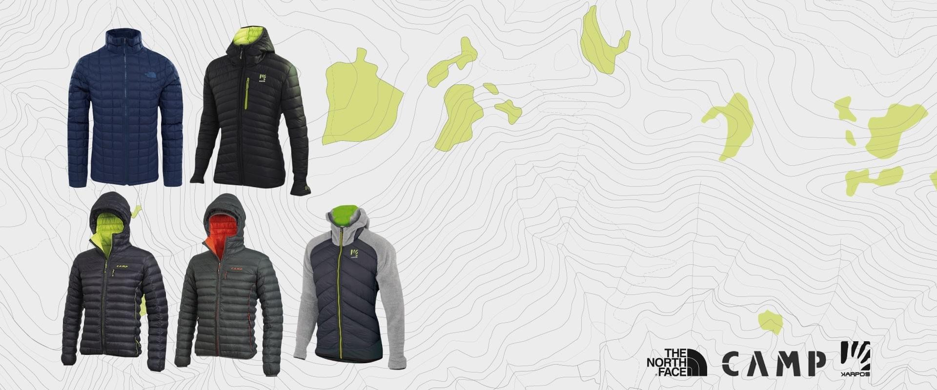 Saldi giacche trekking uomo