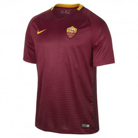 Nike T-Shirt Mm  Roma Home Stadium Team Red/Maroon