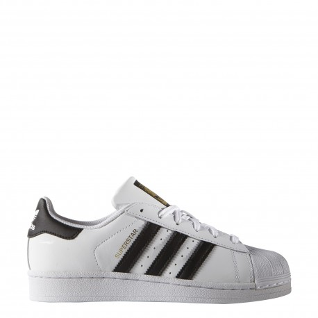 pretty nice 0f82f 4d407 Adidas Superstar Lea Gs Bambino Bianco Nero ...