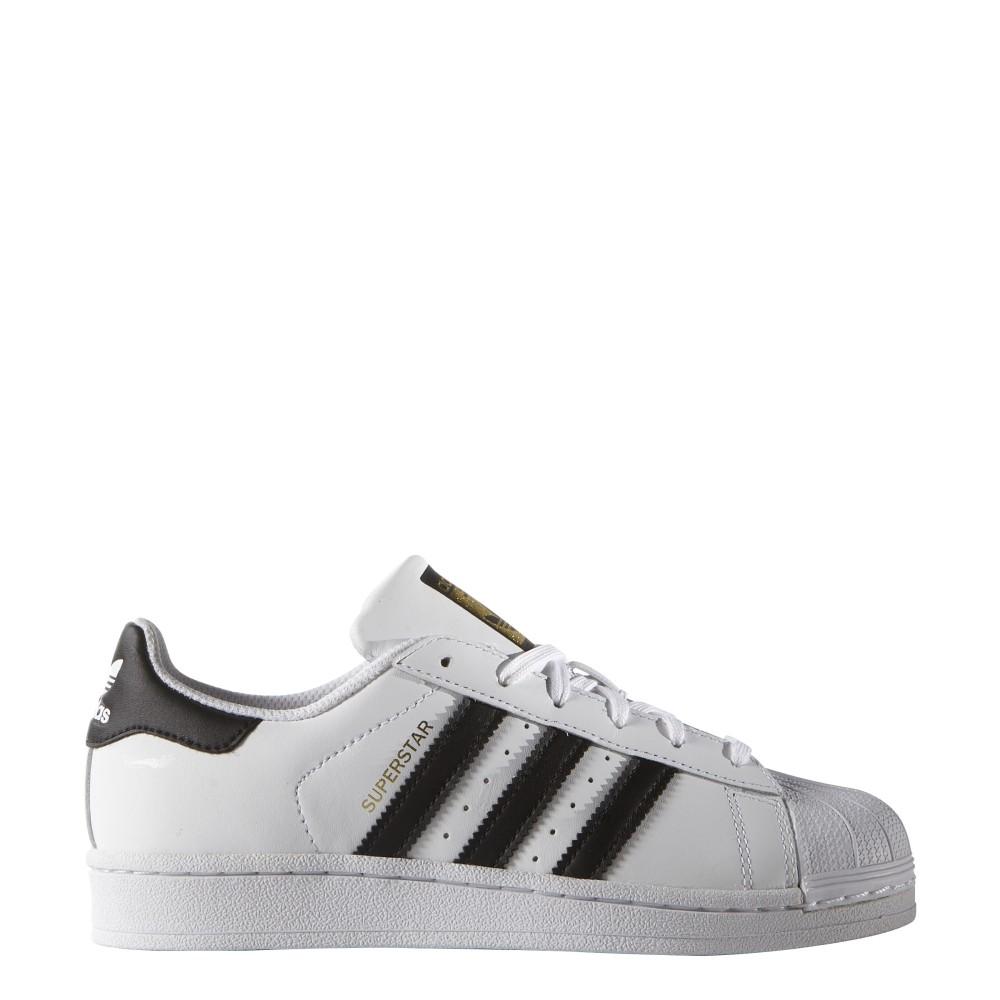 pretty nice 613c0 c64b0 Adidas Superstar Lea Gs Bambino Bianco Nero ...