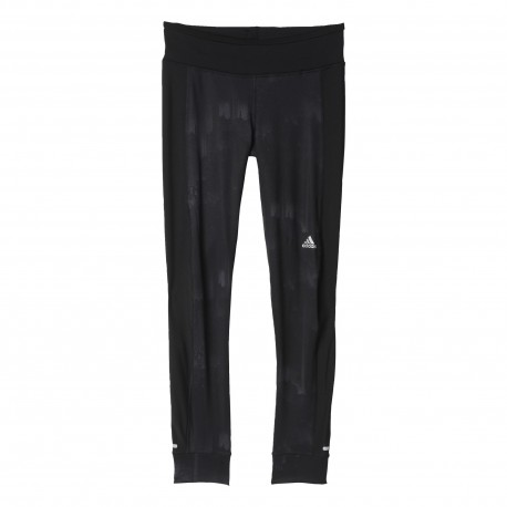 Adidas Long Tight Run Response Graphic Warm Black Donna