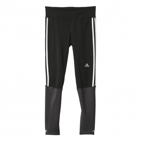 Adidas Long Tight Run Response Black Donna