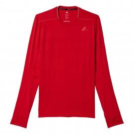 Adidas T-Shirt Ml Run Supernova Ray Red
