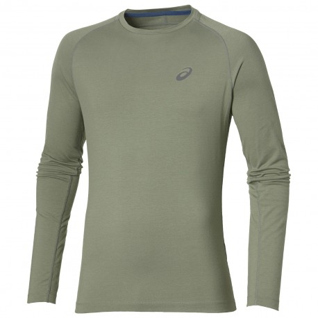 Asics T-Shirt Ml Run Elite Baselayer Eucalyptus