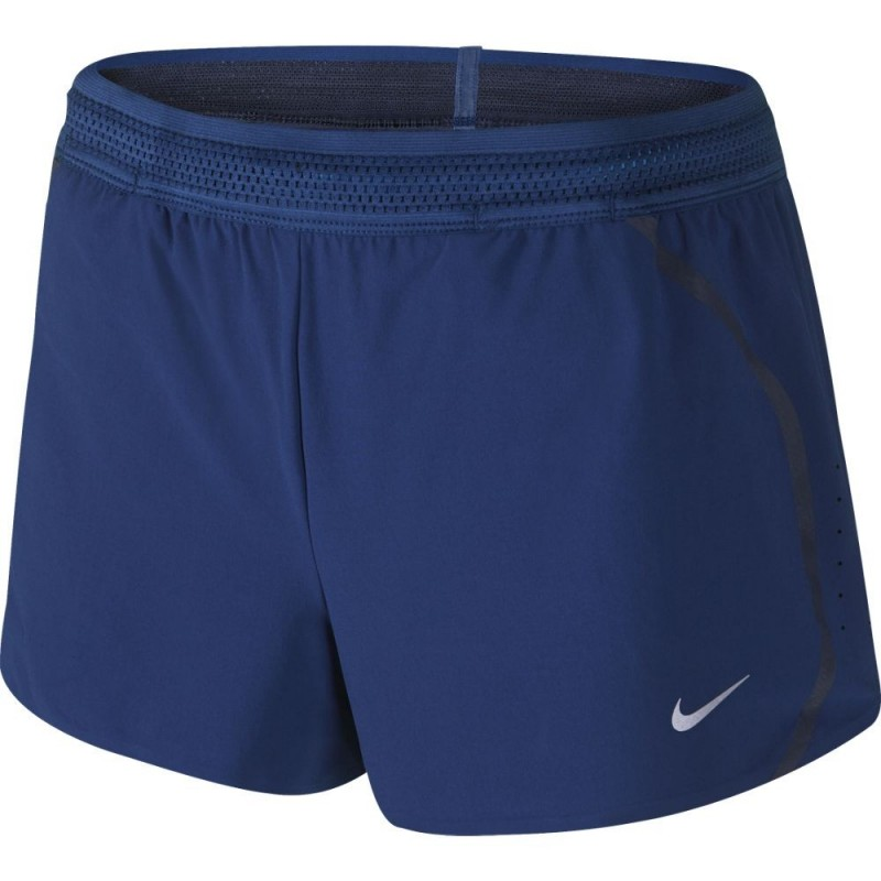 selezione premium adb3a d5d77 Nike Short Run Aeroswift Royal Blue Donna