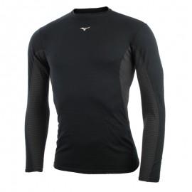 Mizuno Bt T-Shirt Ml Run Mid Weight Crew Black