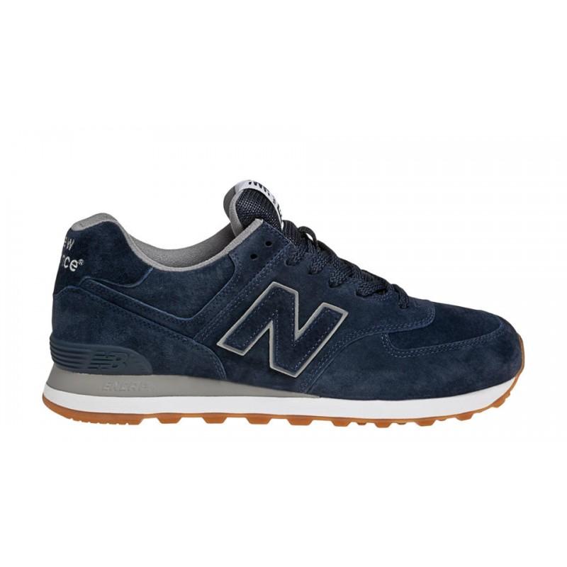 new balance 574 blu
