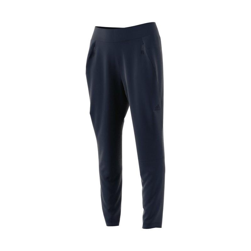 Adidas Pantalone Donna Z.N.E. Tasche Train Bianco