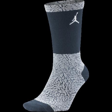 Nike Calzettone Jordan Print Blu/Bianco