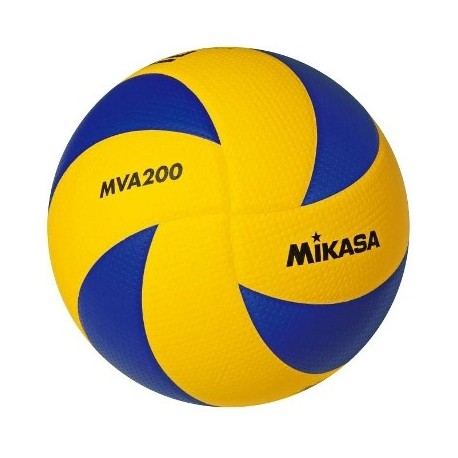 Mikasa Pallone Volley Gara Exclusive FIVB Mva200 Yellow/Navy