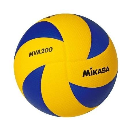 Mikasa Pallone Volley Gara Exclusive FIVB Mva200 Yellow/Navy