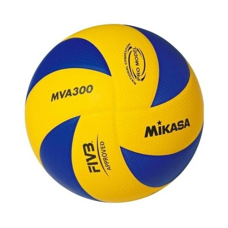 Mikasa Pallone Volley Grara FIVB Mva300 Yellow/Navy