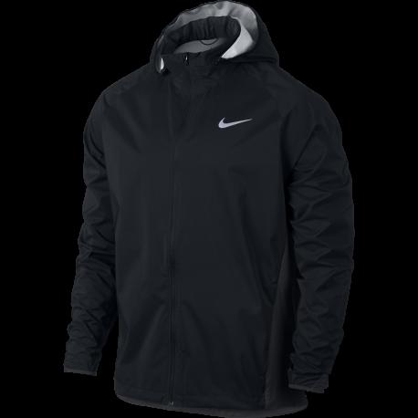 Nike Giacca Run Shld Hd Zoned Black/Anthracite