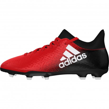 Adidas X 16.3 Fg Rosso/Bianco Junior