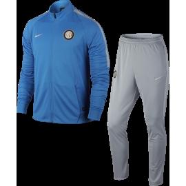 Nike Tuta Inter Sqd Blu/Grigio