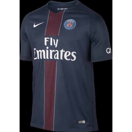 Nike T-Shirt Paris Saint-Germain Stadium Home Navy/Bianco