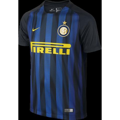 Nike T-Shirt Mm Inter H Stadium Nero/Royal Junior