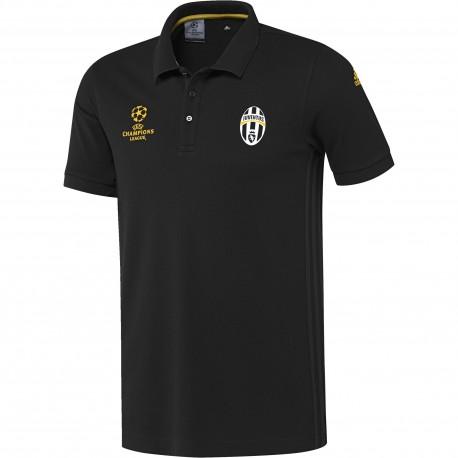 Adidas Polo Mm Juve Eu Nero/Gold