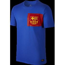Nike T-Shirt FC Barcelona Crest Blue