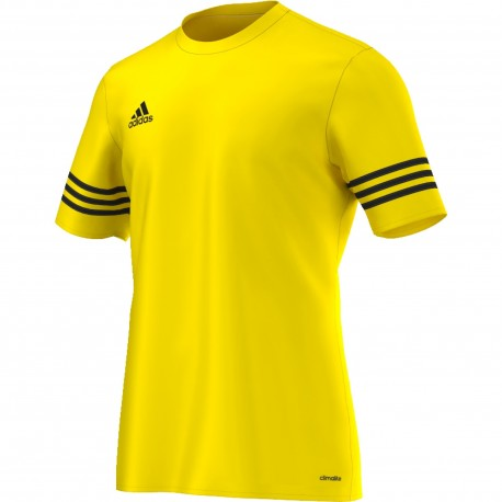 Adidas T-Shirt Mm Entrada 14 Team Giallo/Nero