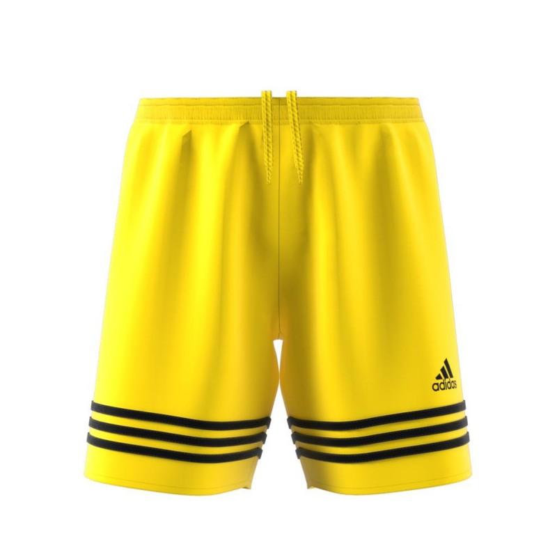 ADIDAS short entrada 14 yellow/black