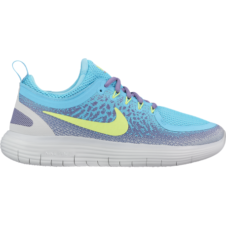 Nike  Free Rn Distance 2  Polarized Blue/Volt Donna