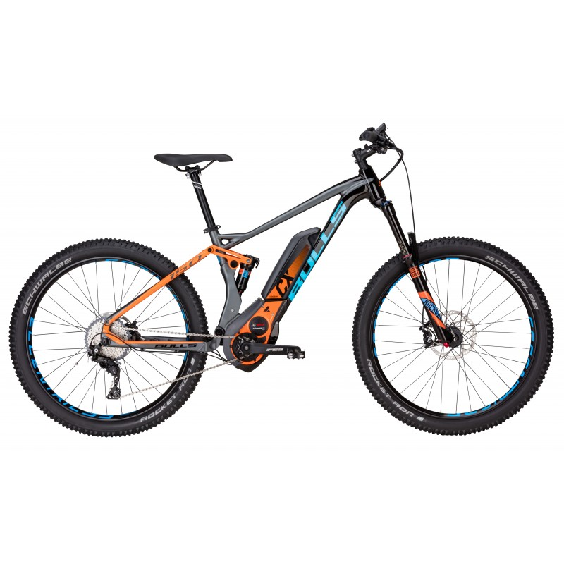 Bulls Mtb Six50+E Fs 3 27,5 500wh  Grey/Blk/Orange