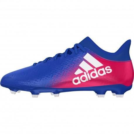Adidas X 16.3 Fg Blu/Bianco