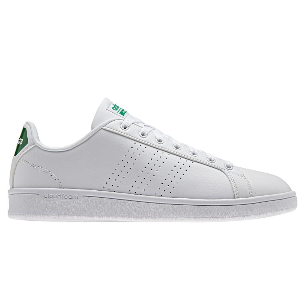 Scarpe Cloudfoam Advantage Clean Adidas Bianco/verde