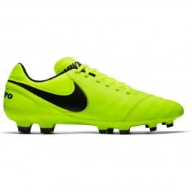 Nike Tiempo Genio II Lea Fg Giallo/Nero