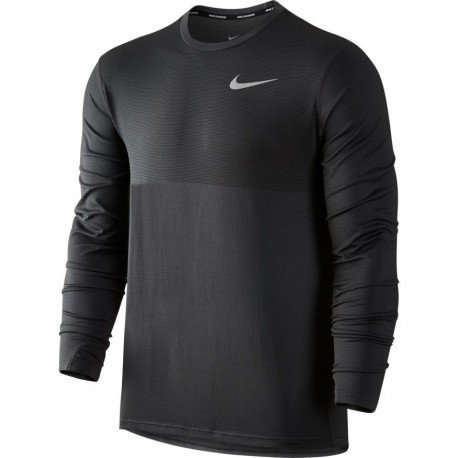 Nike T-shirt ML Run Znl Cl Relay Anthracite