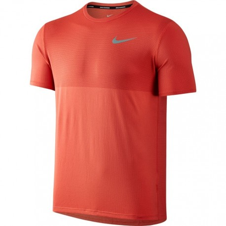 Nike T-shirt mm Run Znl Cl Relay Max Orange