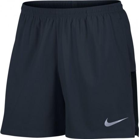 Nike Short Chllgr Run 5In Blu