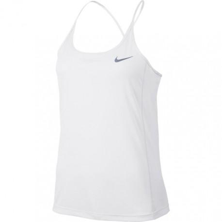 Nike Canotta Run Miler Bianco