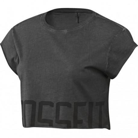 Reebok T-Shirt Mm Washed Crossfit Grigio