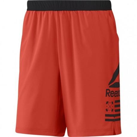 Reebok Short Speed Rosso