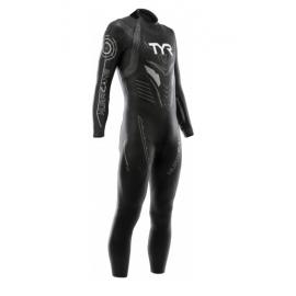 Tyr Muta Triathlon C3 Hurricane Neoprene Black/Silver