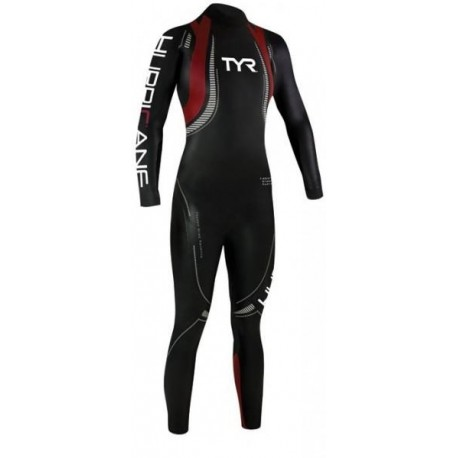 Tyr Muta Triathlon C5 Hurricane 39 Neoprene Black/Red