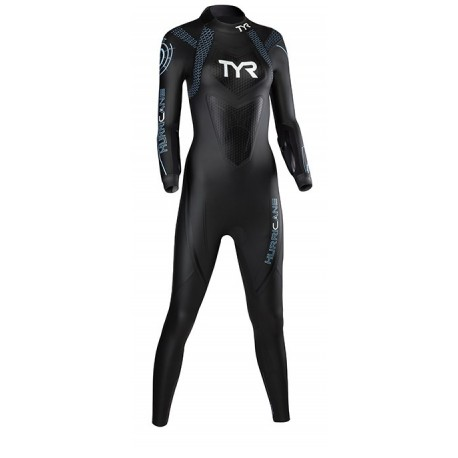Tyr Muta Triathlon C2 Hurricane Black/Light Blue