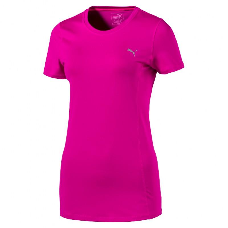 Puma T-Shirt Donna Giro Mm  Fuxia