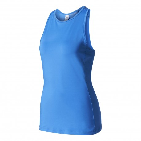 Adidas Tank Donna Elast Speed Blu