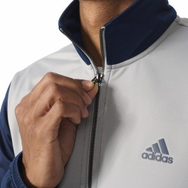 Adidas Tuta Poly Zip Bicolor Grigio