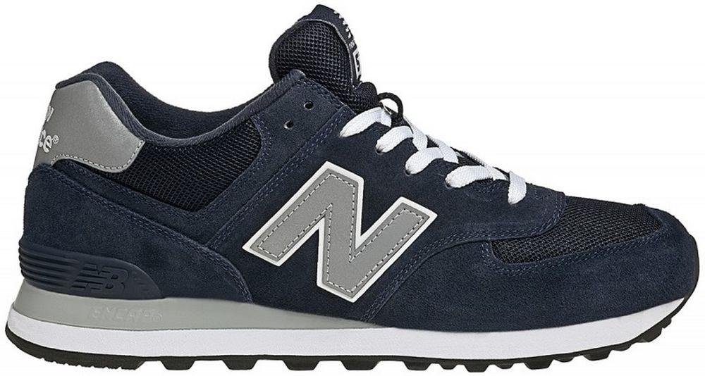 new balance 574 uomo blu 43