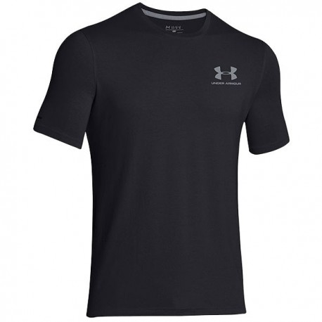 Under armour T-shirt Mm Chest Lockup Black