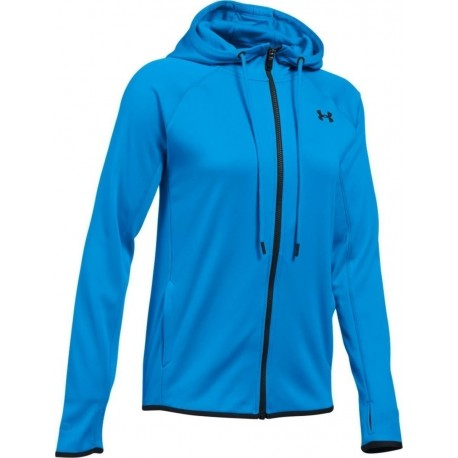 Under Armour Felpa Cap/Zip Tunic Donna Water