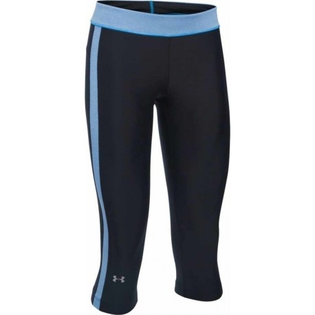 Under Armour Capri Banda Donna Black/Water
