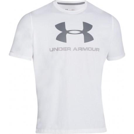 Under Armour T-shirt Mm Giro Logo Black
