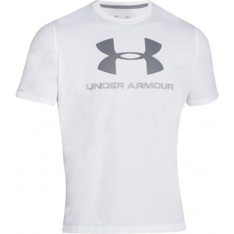 Under Armour T-shirt Mm Giro Logo Black