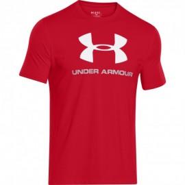 Under Armour T-shirt Mm Jy Logo Train Rosso